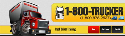 Call 1800TRUCKER to find and enroll in trucker schools near you